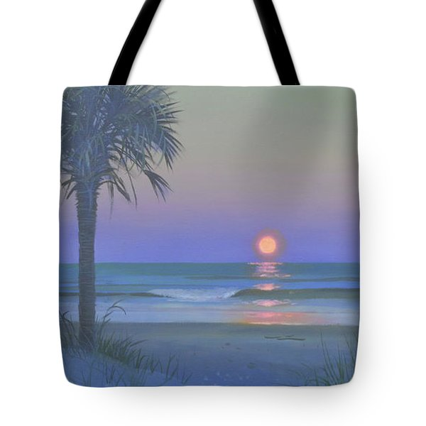 Palmetto Moon Tote Bag by Blue Sky
