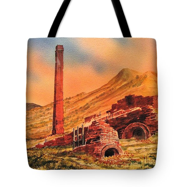 Panamint City Ghost Town California Tote Bag by Kevin Heaney