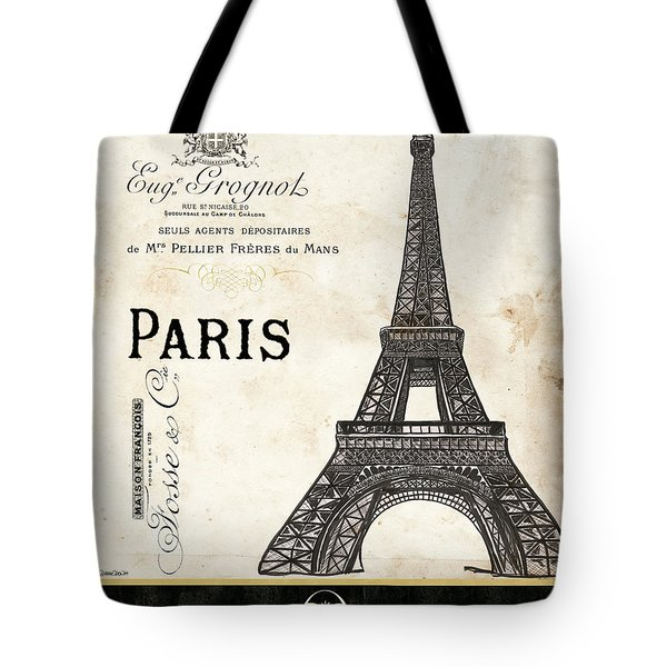 Paris Ooh La La 1 Tote Bag