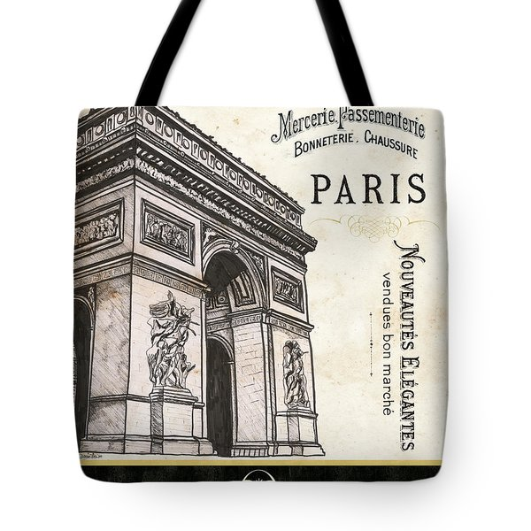 Paris Ooh La La 2 Tote Bag