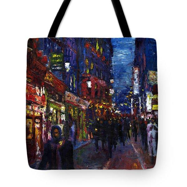 Paris Quartier Latin 01 Tote Bag