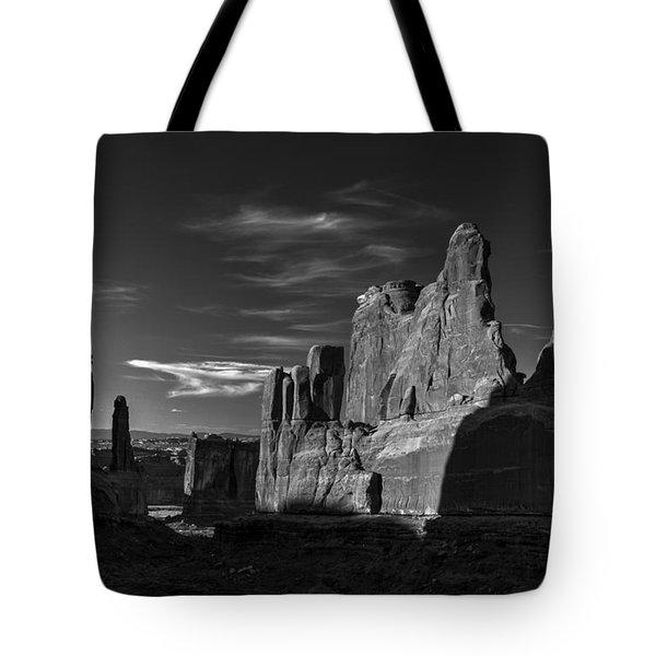 Park Avenue Rocks Tote Bag