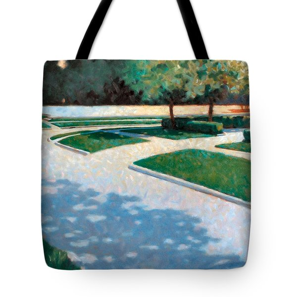 Parking Lot Tote Bag by Kevin Lawrence Leveque