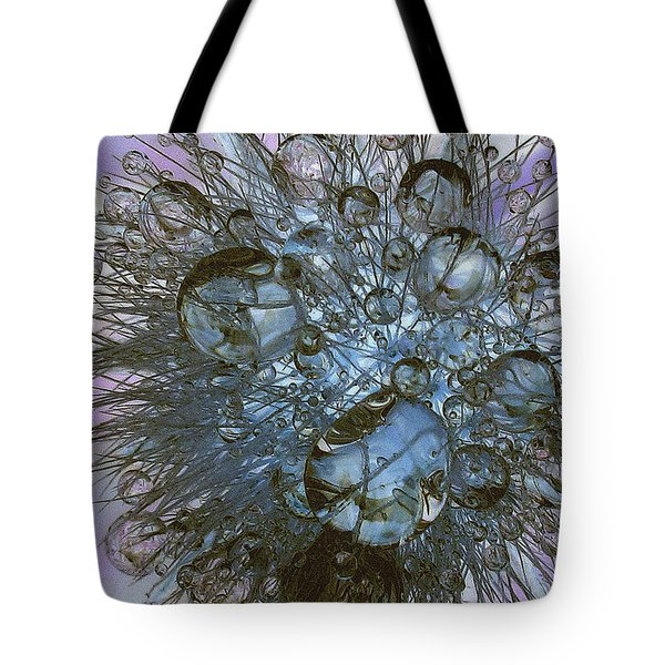 Tote Bag featuring the photograph Pastel Prisms by Suzy Piatt