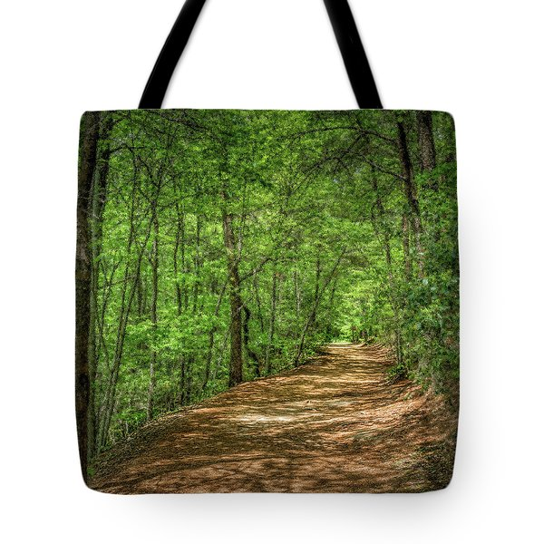 Path Less Travelled - Impressionist Tote Bag
