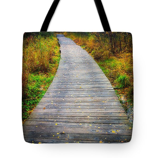 Pathway Home Tote Bag