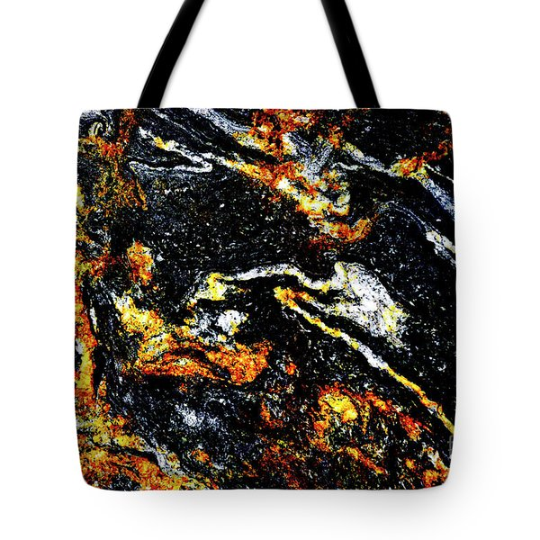 Tote Bag featuring the photograph Patterns In Stone - 189 by Paul W Faust - Impressions of Light