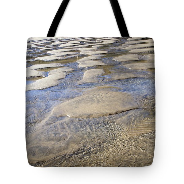 Patterns In The Sand I Tote Bag by Shirley Mitchell