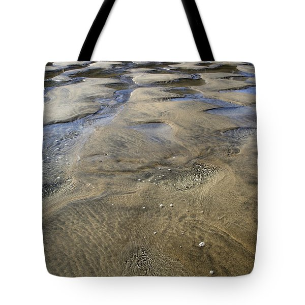 Patterns In The Sand II Tote Bag by Shirley Mitchell