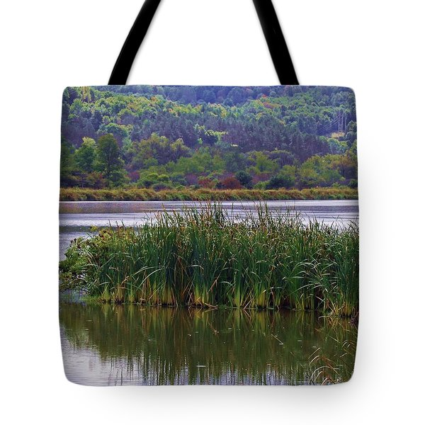 Peace Be Still Tote Bag