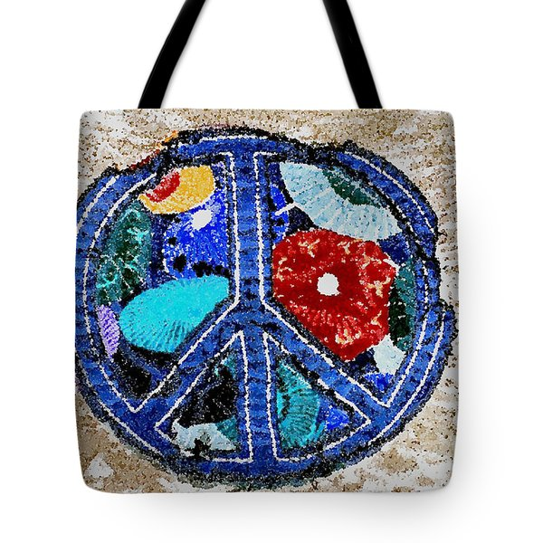 Tote Bag featuring the photograph Peace  by Juls Adams