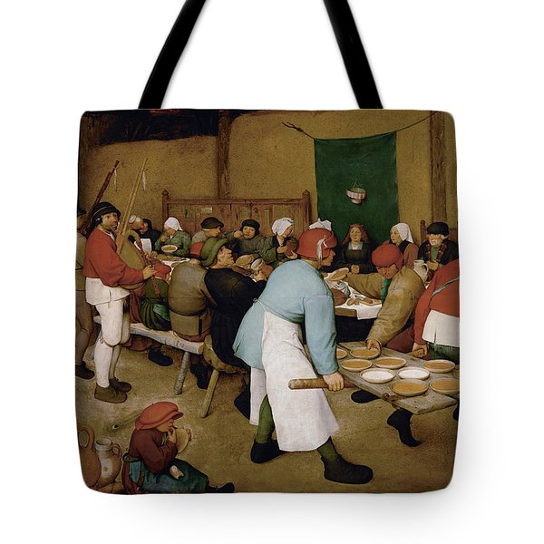Peasant Wedding Tote Bag