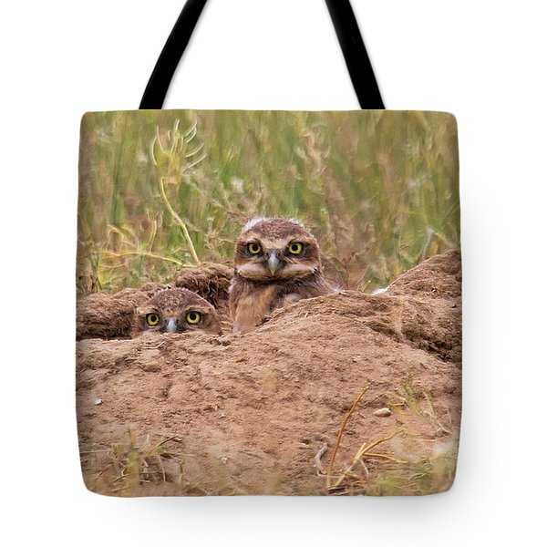 Peepers Tote Bag
