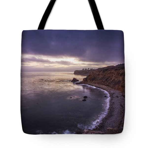 Tote Bag featuring the photograph Pelican Cove After Sunset by Andy Konieczny