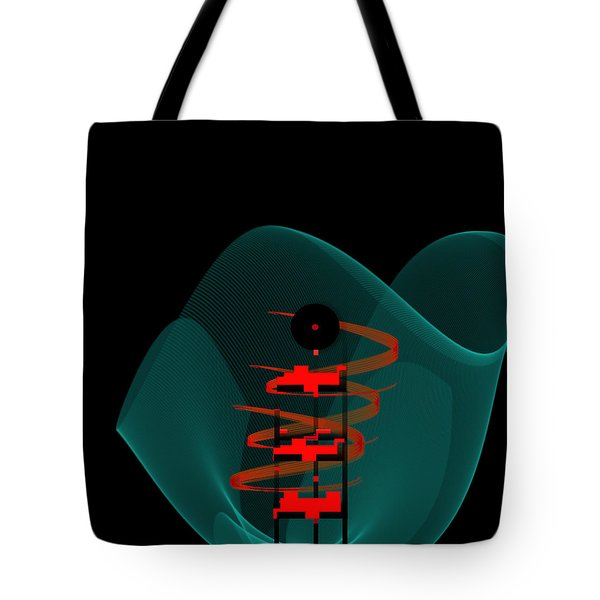 Tote Bag featuring the painting Penman Original-149 by Andrew Penman