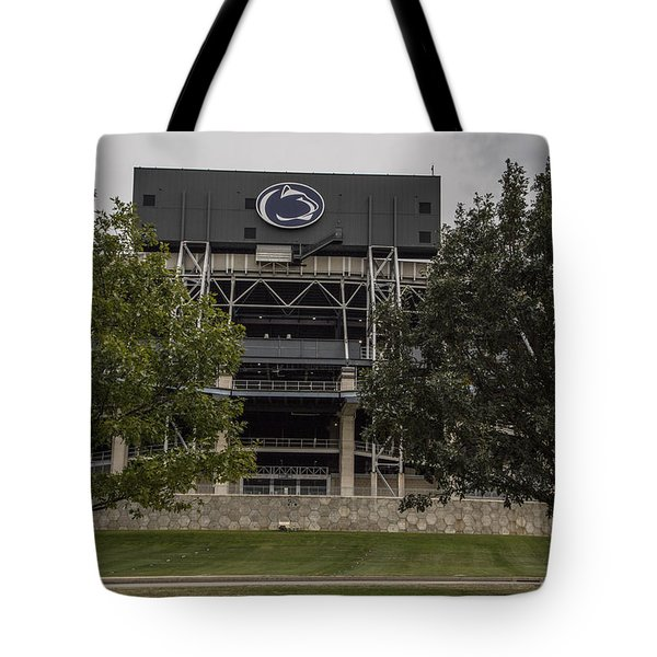 Penn State Beaver Stadium  Tote Bag by John McGraw
