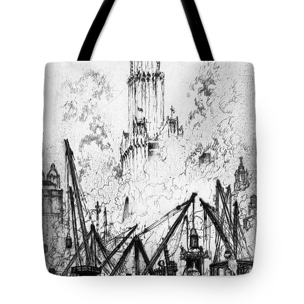 Pennell New York City, 1924 Tote Bag