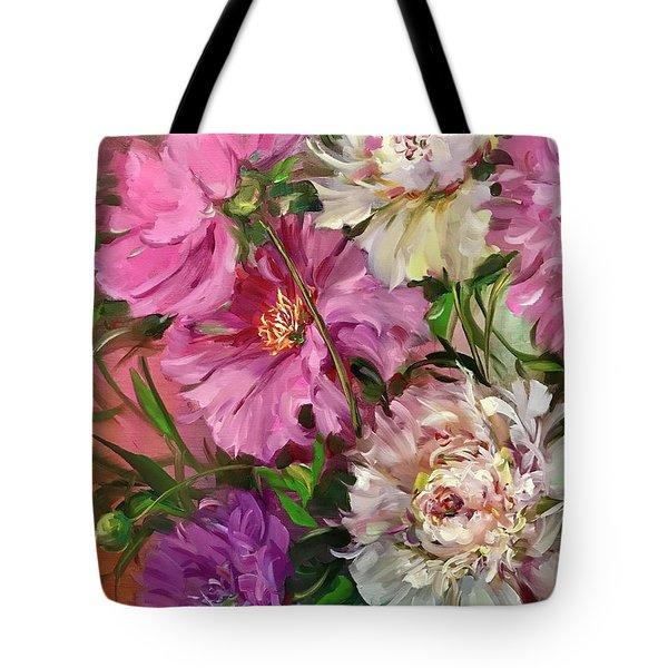 Peony Love Potion No. 9 Tote Bag