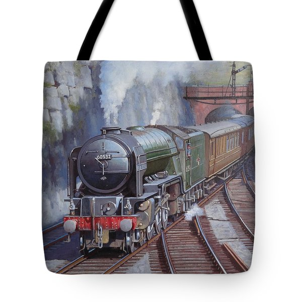 Tote Bag featuring the painting Peppercorn Pacific. by Mike  Jeffries
