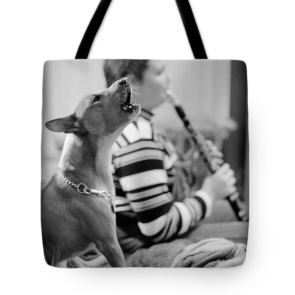 Perfect Pitch Tote Bag