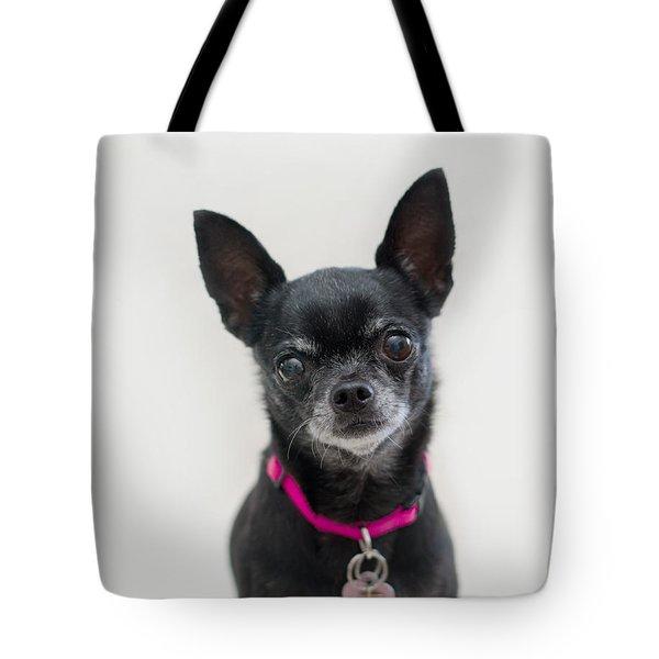 Tote Bag featuring the photograph Perlita 2 by Irina ArchAngelSkaya