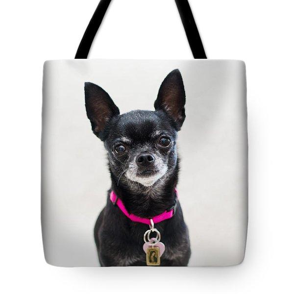 Tote Bag featuring the photograph Perlita by Irina ArchAngelSkaya