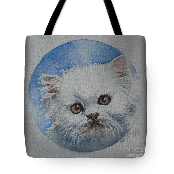 Persian Kitten Tote Bag