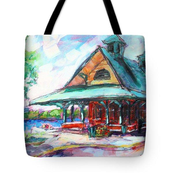 Pewaukee Depot Tote Bag