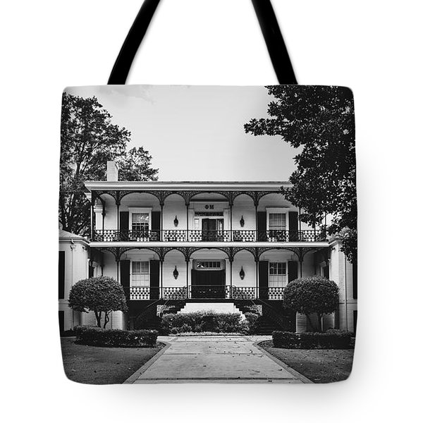 Phi Mu Sorority House - University Of Georgia Tote Bag