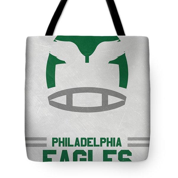 Philadelphia Eagles Vintage Art Tote Bag