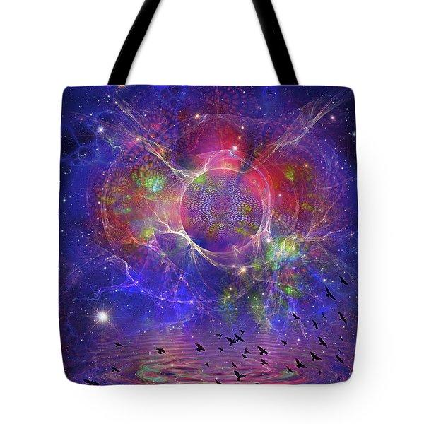 Photon Rings Tote Bag