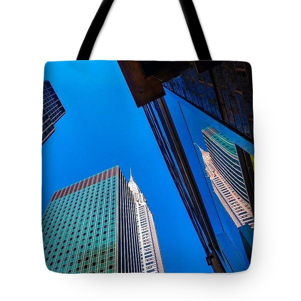 Photoshopping #tbt #nyc Summer Of 2013 Tote Bag