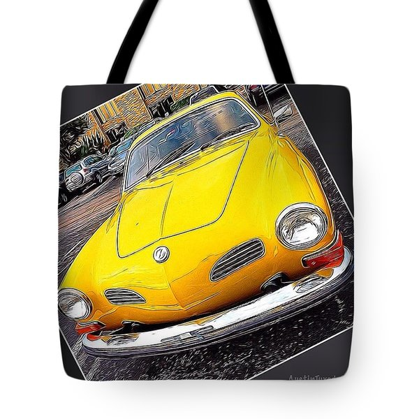 Photoshopping The #yellow #karminnghia Tote Bag