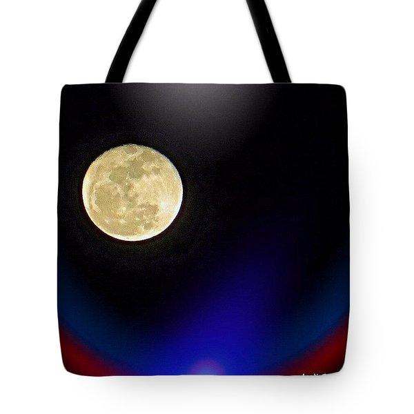 Photoshopping Tonight's #moon. Wish Tote Bag