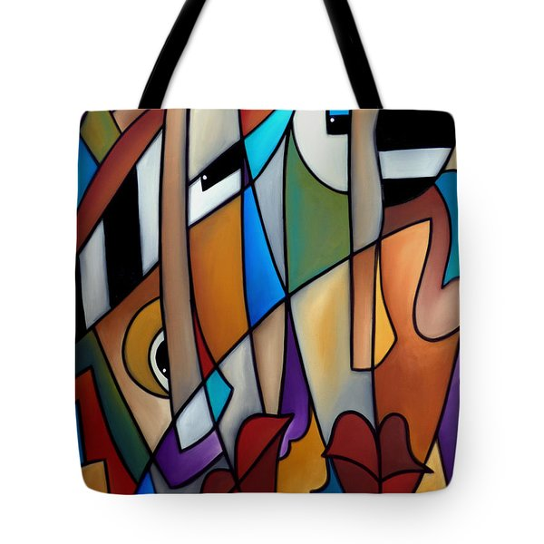 Piano Men Tote Bag