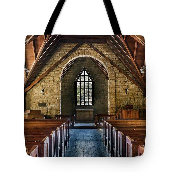 Pine Mountain Chapel Tote Bag