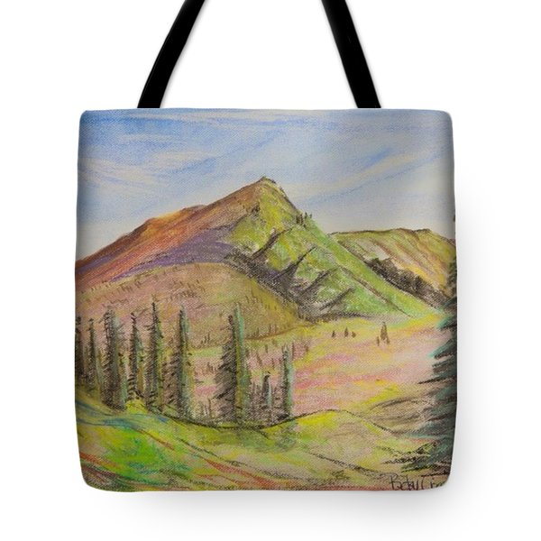 Pines On The Hills Tote Bag