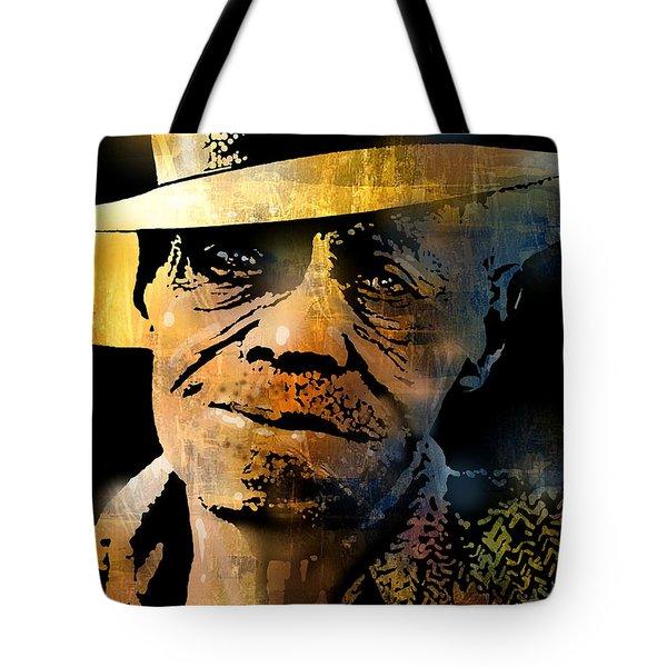 Pinetop Perkins Tote Bag by Paul Sachtleben