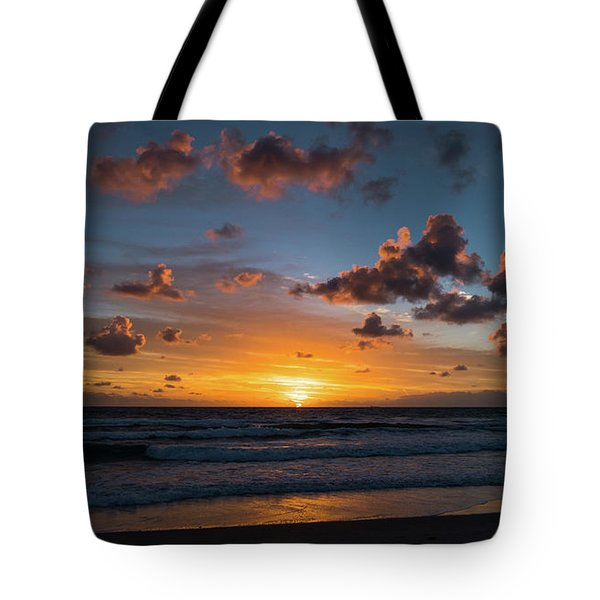 Pink Cloud Sunrise Delray Beach Florida Tote Bag