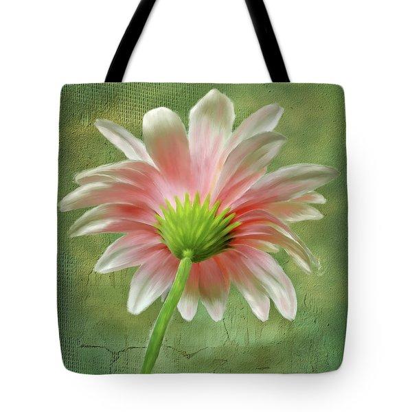 Pink Dahlia Tote Bag