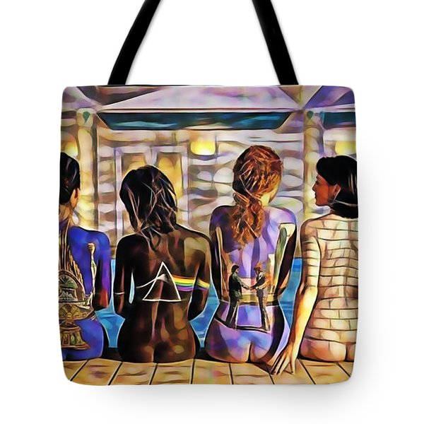 Pink Floyd Collection Tote Bag