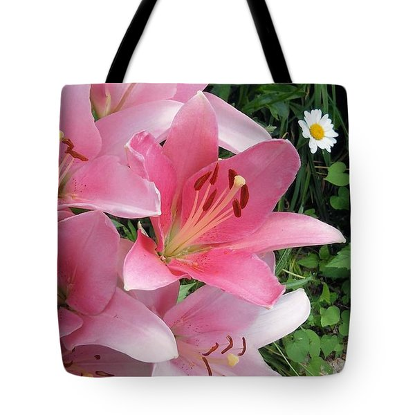 Pink Lady Tote Bag by Vickie G Buccini