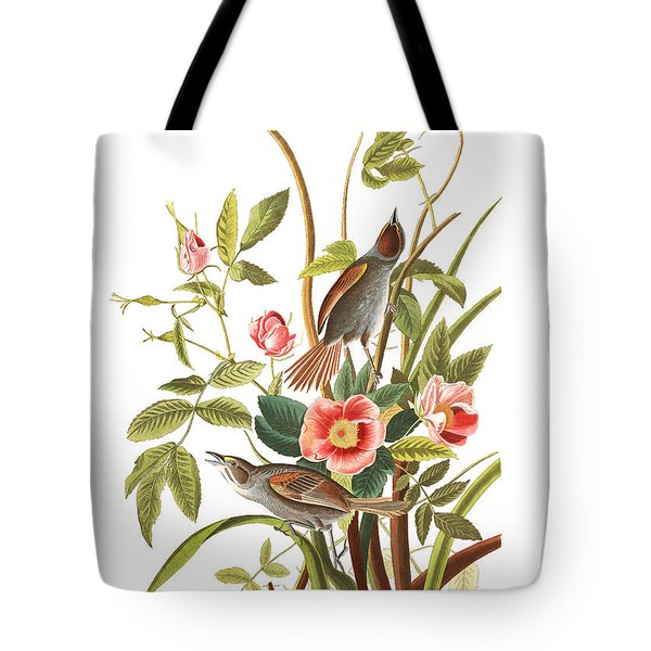 Tote Bag featuring the photograph Pink Roses by Munir Alawi
