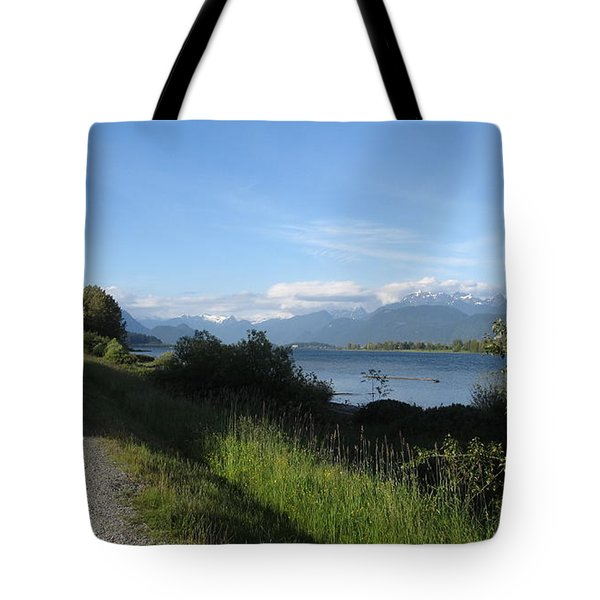 Pitt River Tote Bag