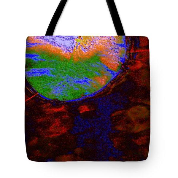 Placid Tote Bag by Priscilla Richardson