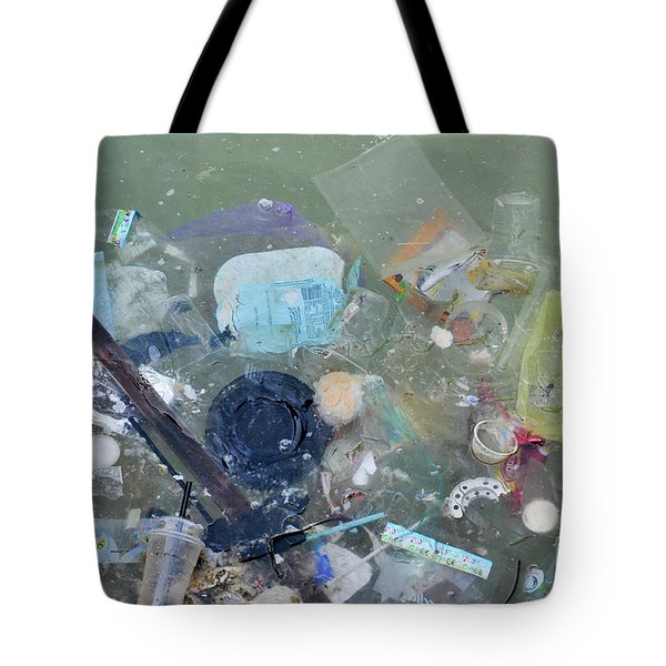 Polluted Dirty Water Tote Bag
