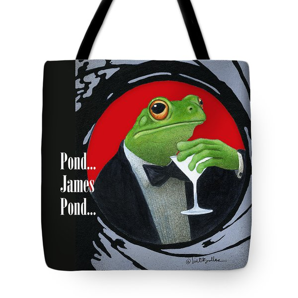 Pond ... James Pond Tote Bag