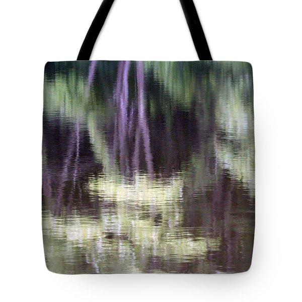 Pond Reflect Tote Bag by Karol Livote