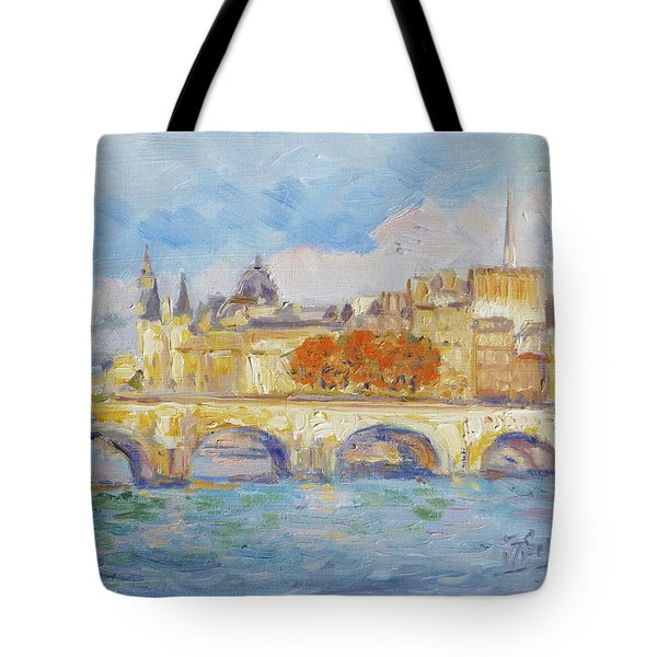 Pont Neuf, Paris Tote Bag