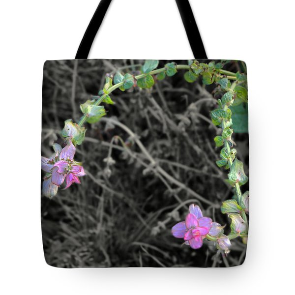 Tote Bag featuring the photograph Pop Of Color  by Deborah  Crew-Johnson